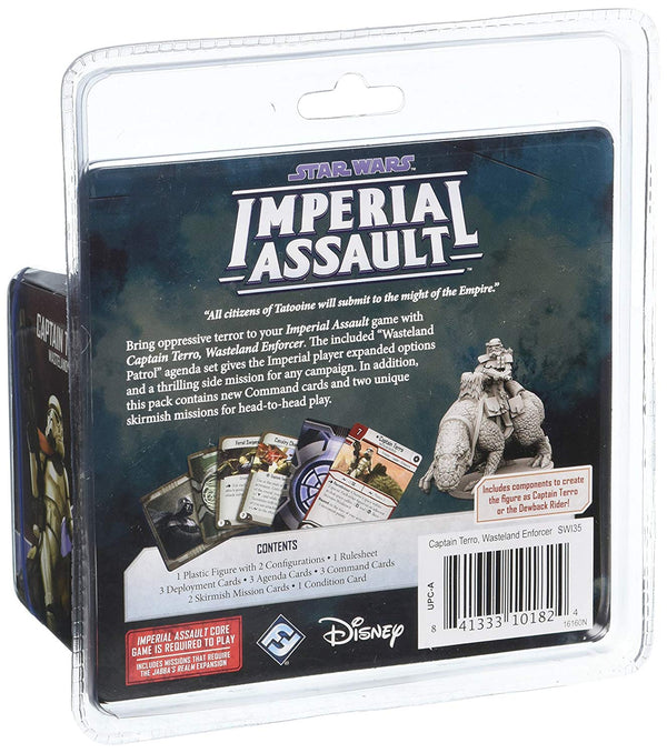 Star Wars: Imperial Assault - Captain Terro Villain Pack Board Game - Macronova Games