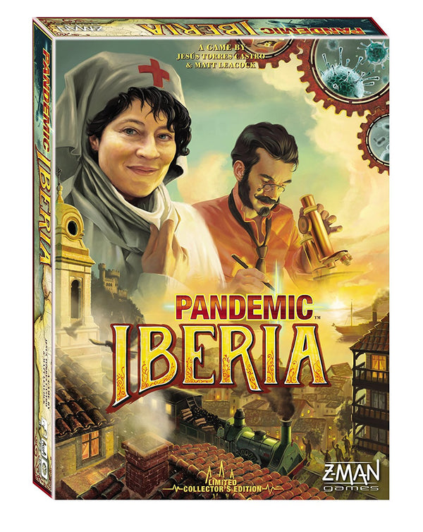 Pandemic: Iberia Board Game - Macronova Games