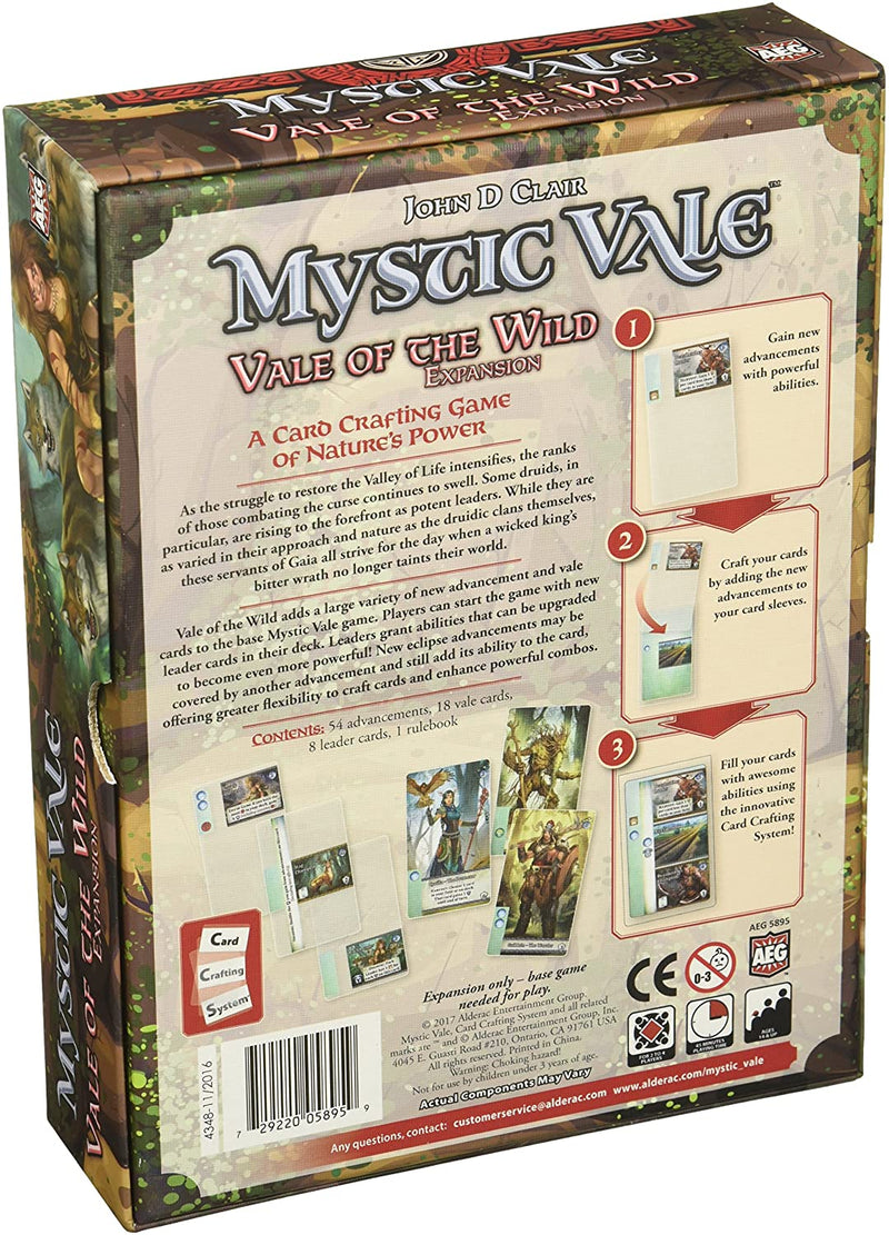 Mystic Vale: Vale of the Wild Board Game - Macronova Games
