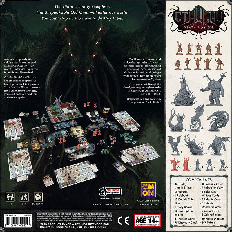 Cthulhu: Death May Die Board Game - Macronova Games