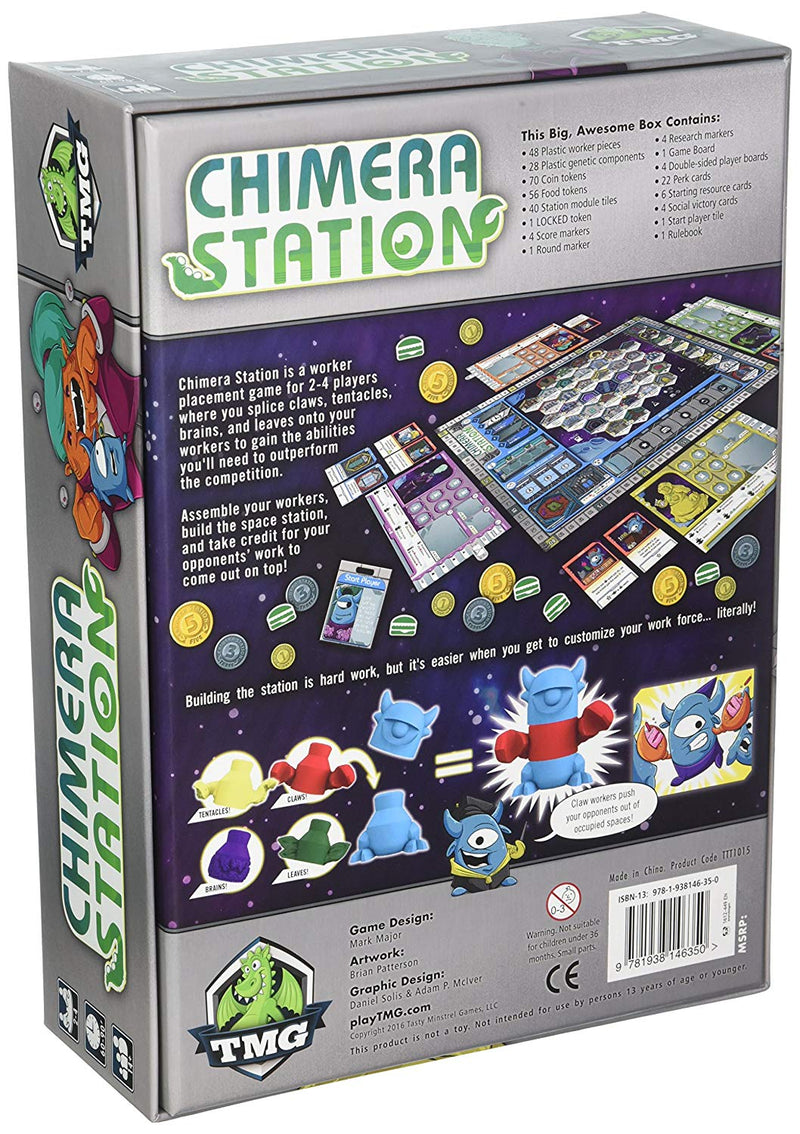 Chimera Station Board Game - Macronova Games