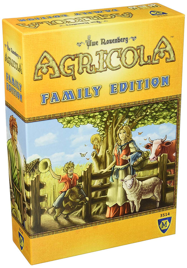 Agricola Family Edition Board Game - Macronova Games