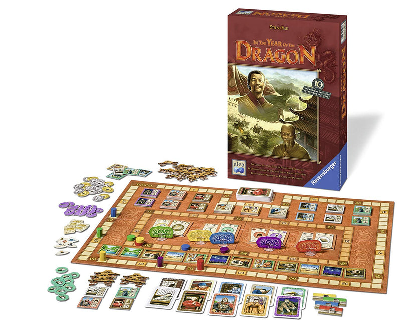 In the Year of the Dragon 10th Anniversary Edition Board Game - Macronova Games