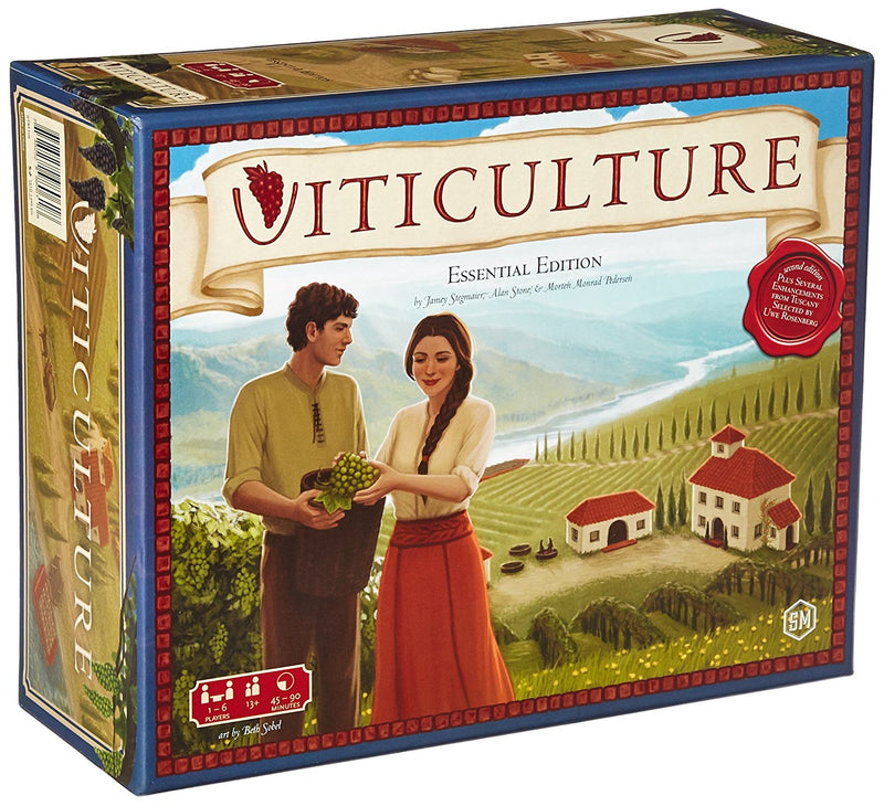 Viticulture: Essential Edition Board Game - Macronova Games