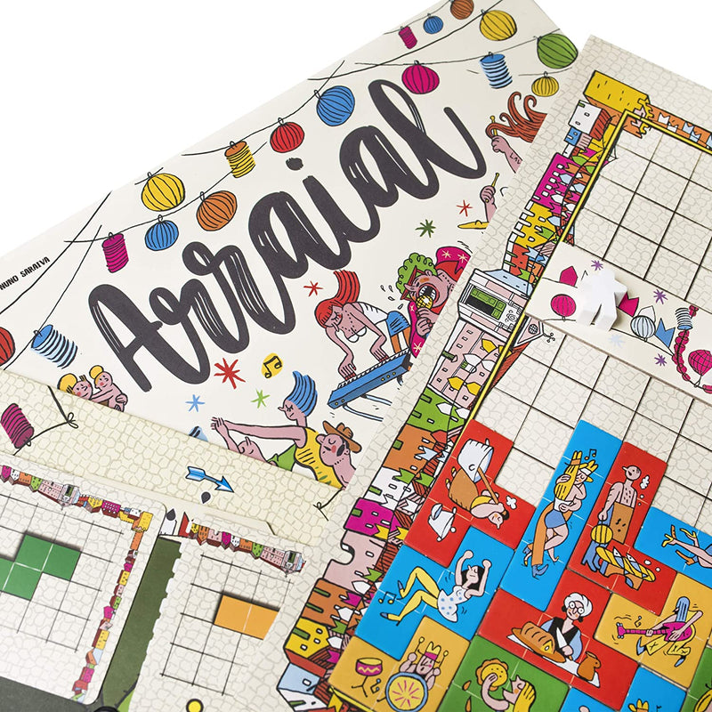 Arraial Board Game - Macronova Games