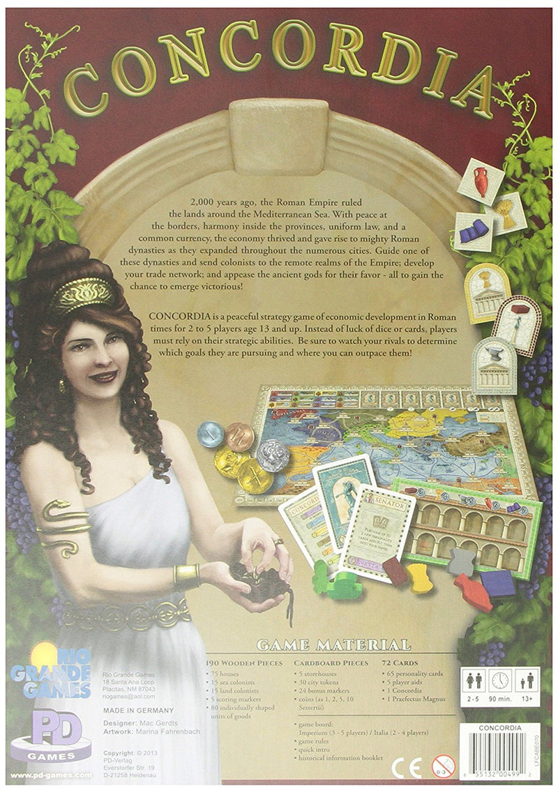 Concordia Board Game - Macronova Games