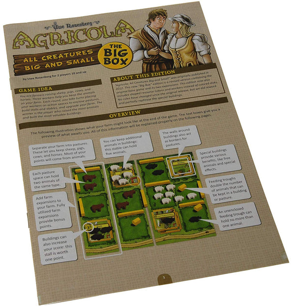 Agricola: All Creatures Big and Small Big Box - Macronova Games