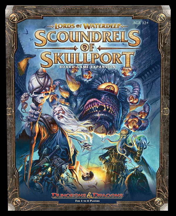 Lords of Waterdeep: Scoundrels of Skullport Board Game - Macronova Games