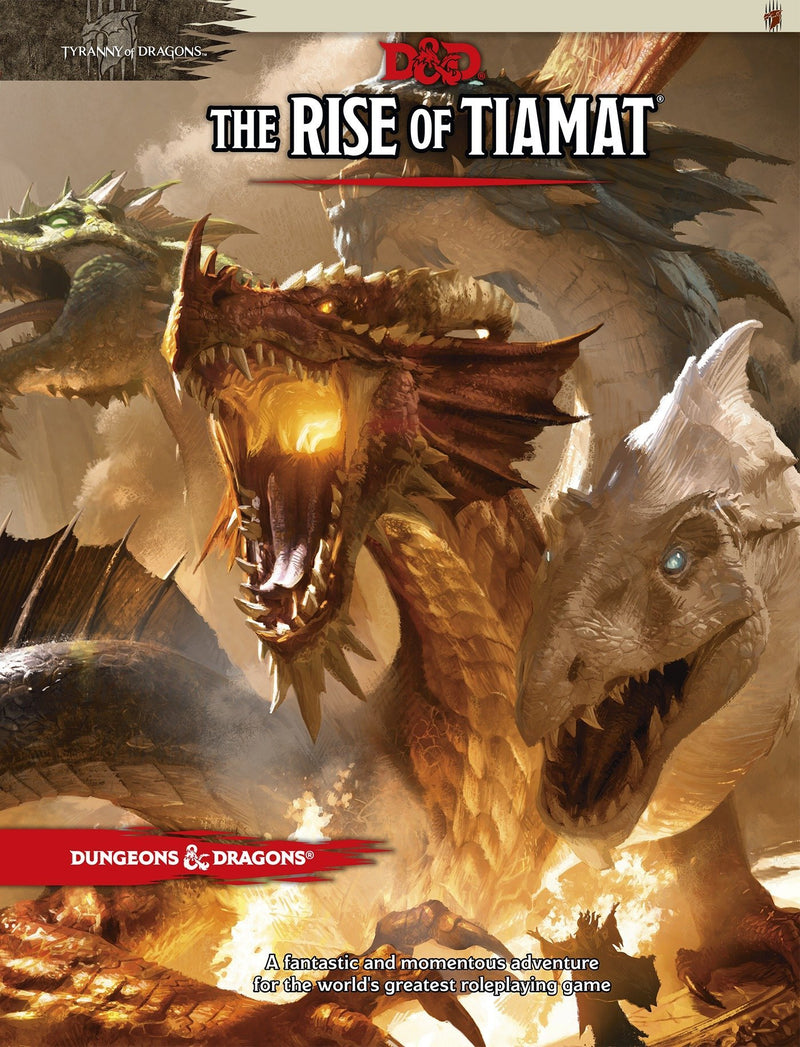 Dungeons and Dragons RPG: Tyranny of Dragons - The Rise of Tiamat Board Game - Macronova Games