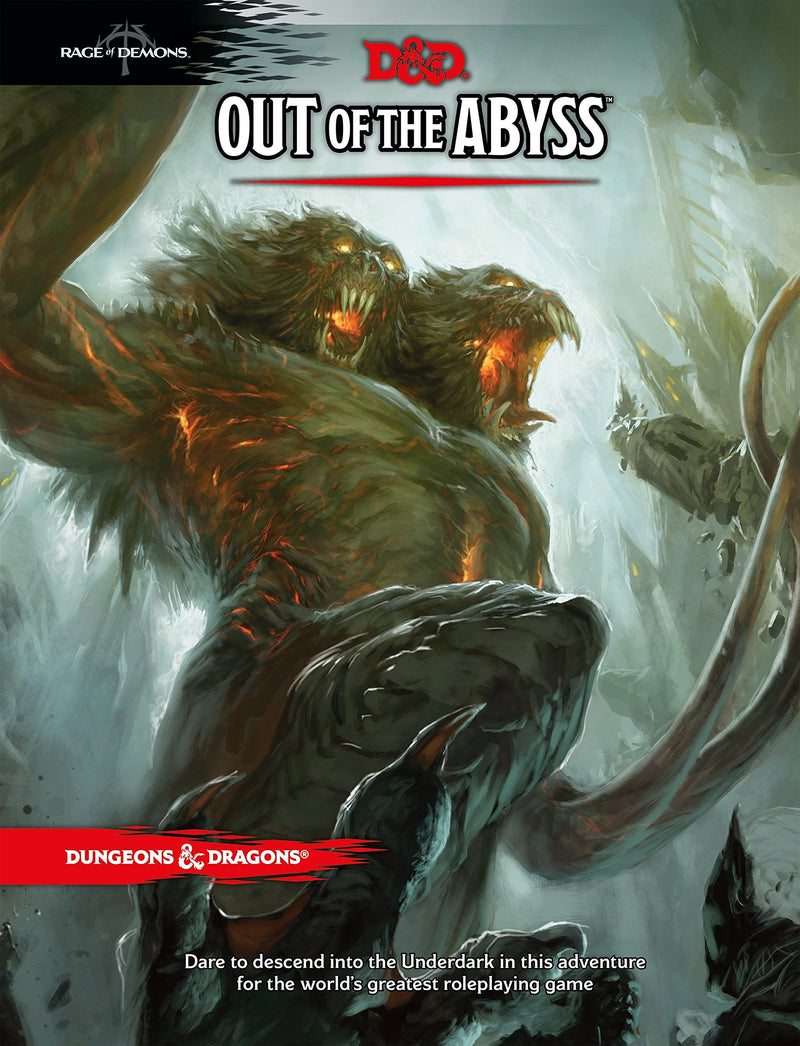 Dungeons and Dragons RPG: Out of the Abyss Board Game - Macronova Games
