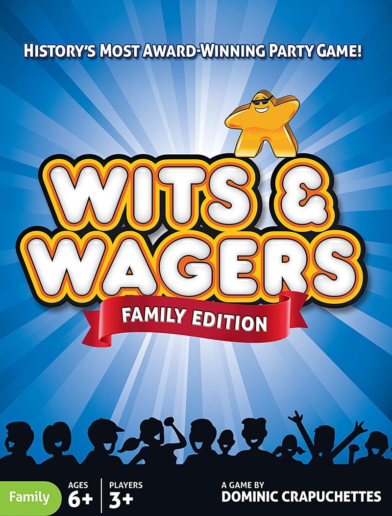 Wits & Wagers Family Board Game - Macronova Games
