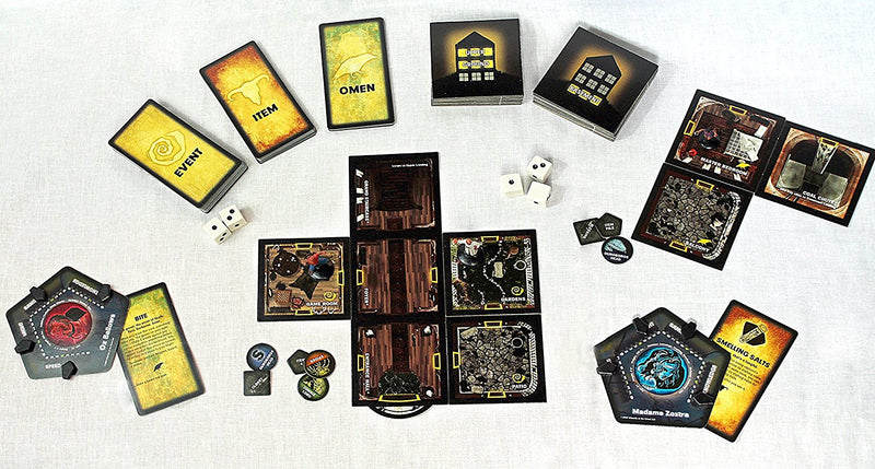 Betrayal at House on the Hill Board Game - Macronova Games