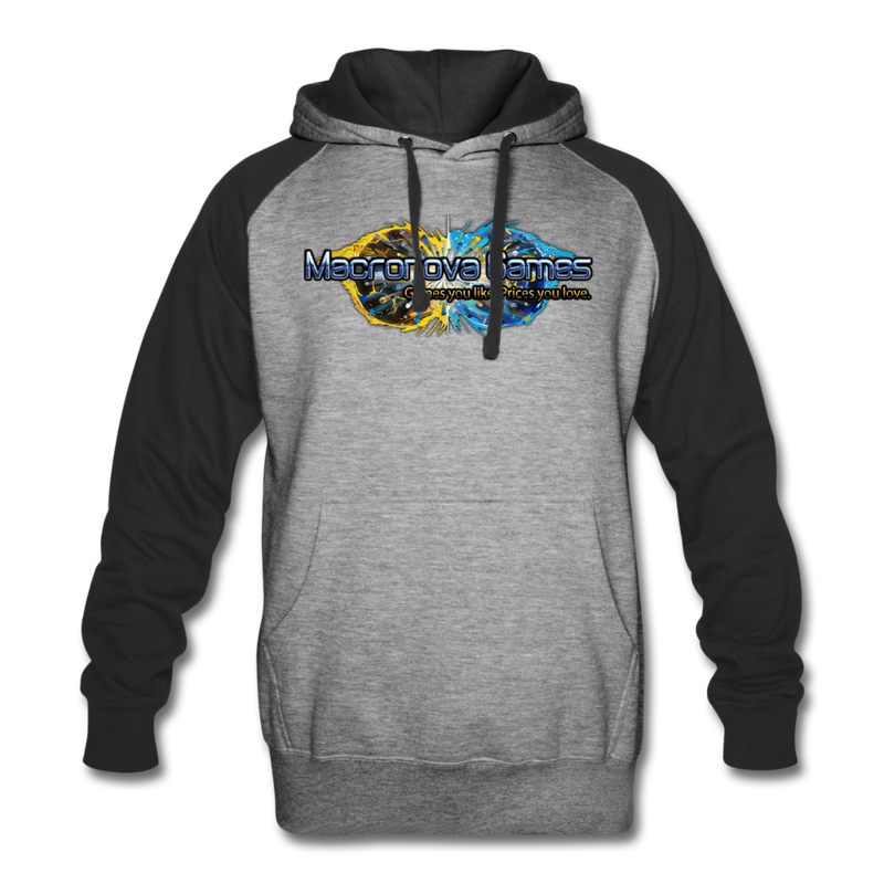 Macronova Games Colorblock Hoodie Colorblock Hoodie - Macronova Games