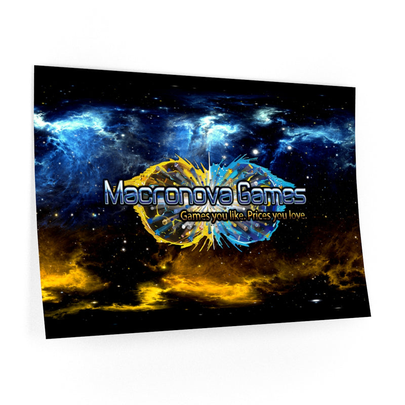 Macronova Games Wall Decal Wall Decal - Macronova Games