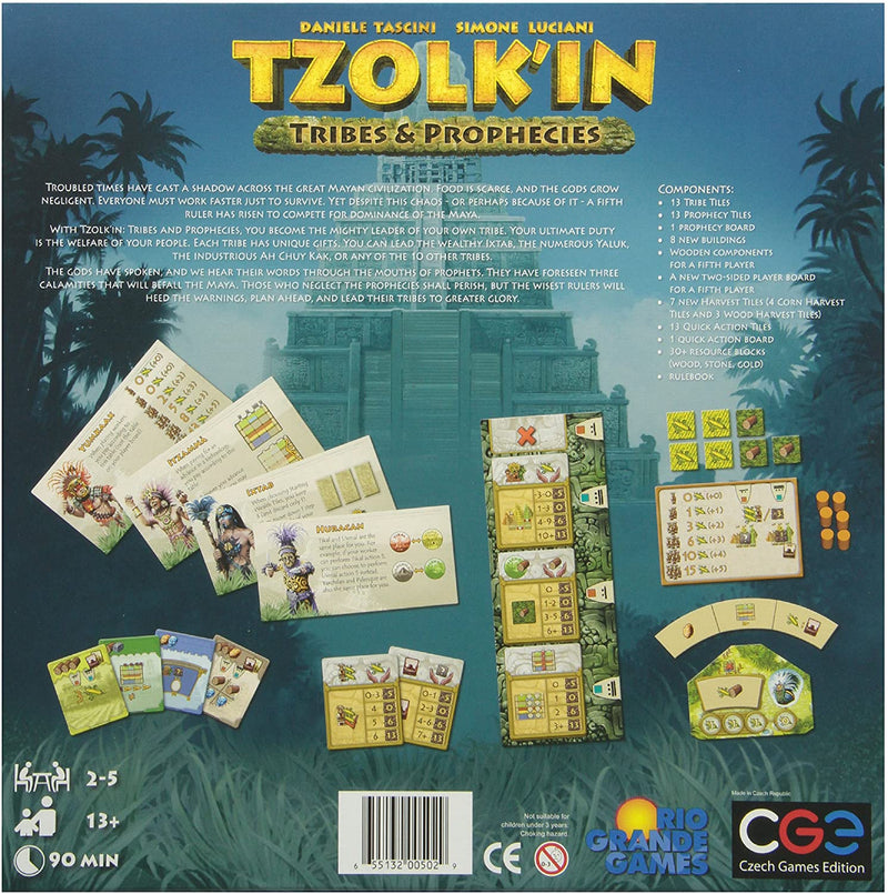 Tzolk'in: The Mayan Calendar Tribes & Prophecies Board Game - Macronova Games