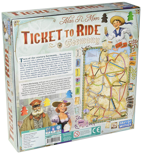Ticket to Ride: Germany - Macronova Games
