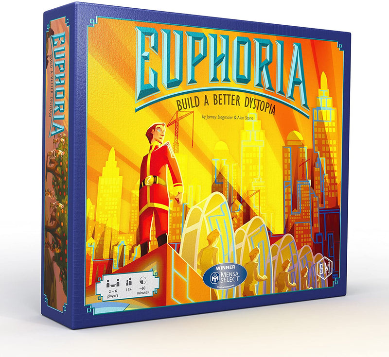 Euphoria: Build a Better Dystopia Board Game - Macronova Games