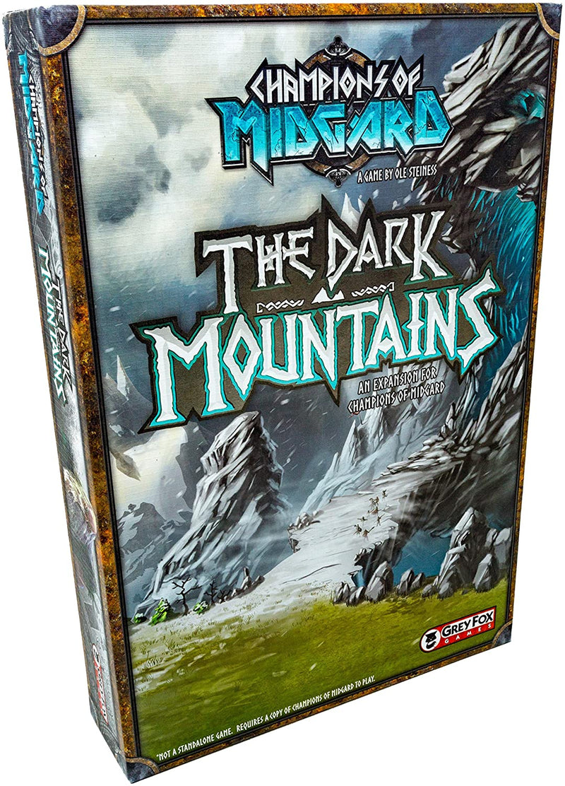 Champions of Midgrd: The Dark Mountains Board Game - Macronova Games