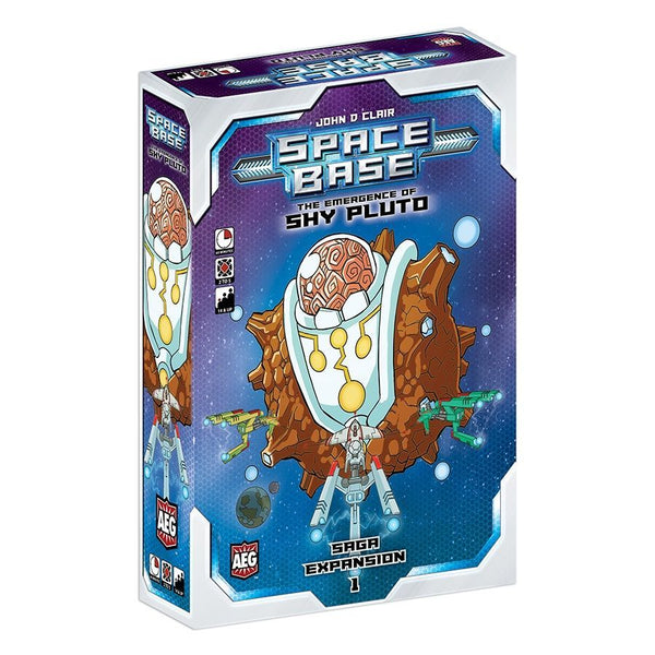Space Base: The Emergence of Shy Pluto Board Game - Macronova Games