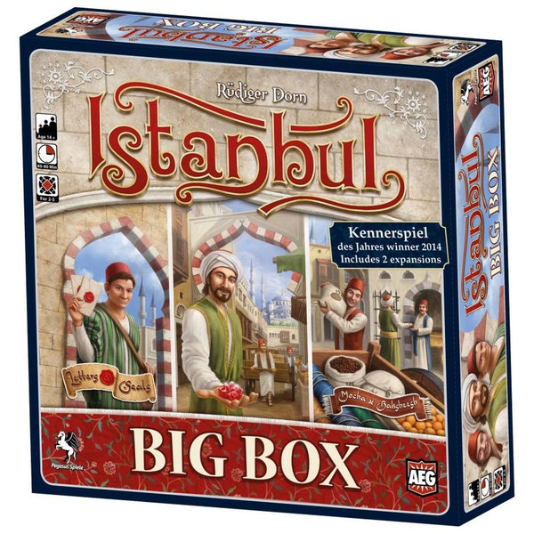 Istanbul: Big Box Board Game - Macronova Games