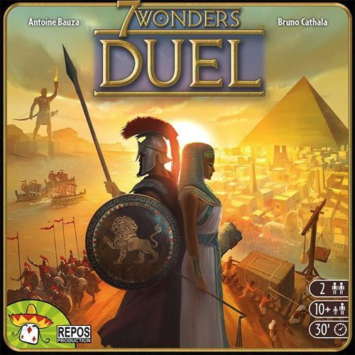 7 Wonders Duel Board Game - Macronova Games