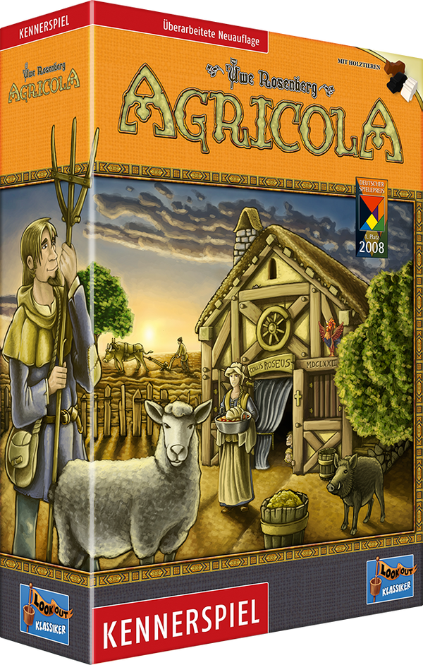 Agricola Revised Edition Board Game - Macronova Games