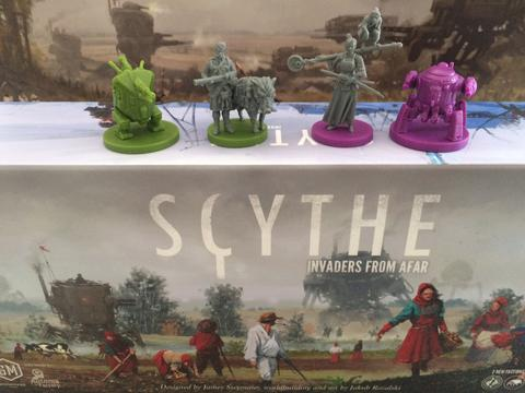 Scythe: Invaders from Afar Board Game - Macronova Games