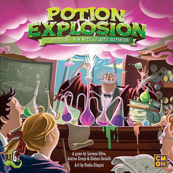 Potion Explosion 2nd Edition Board Game - Macronova Games