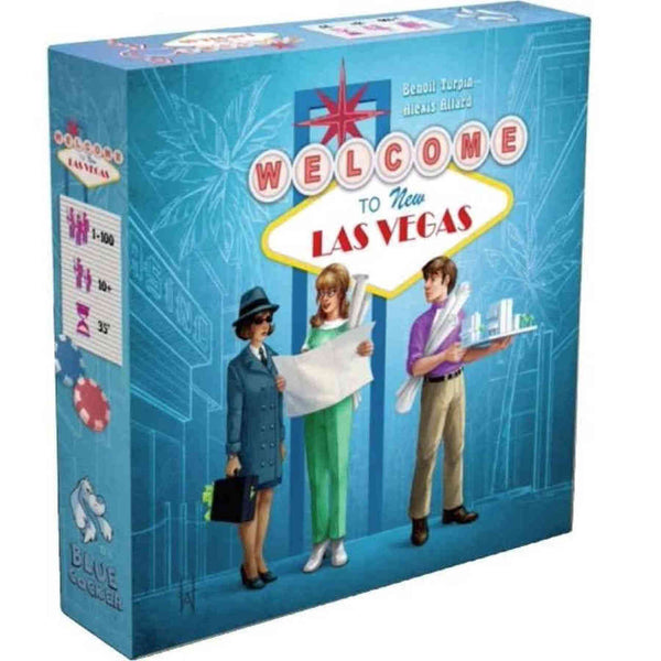 Welcome To...New Las Vegas Board Game - Macronova Games