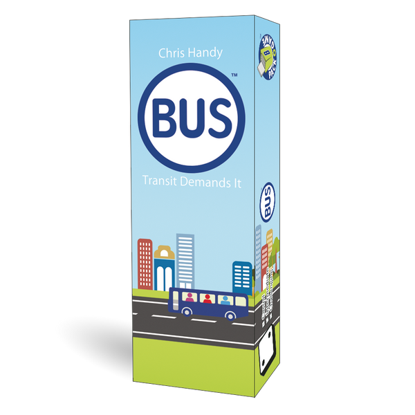 Pack O Games - BUS Board Game - Macronova Games