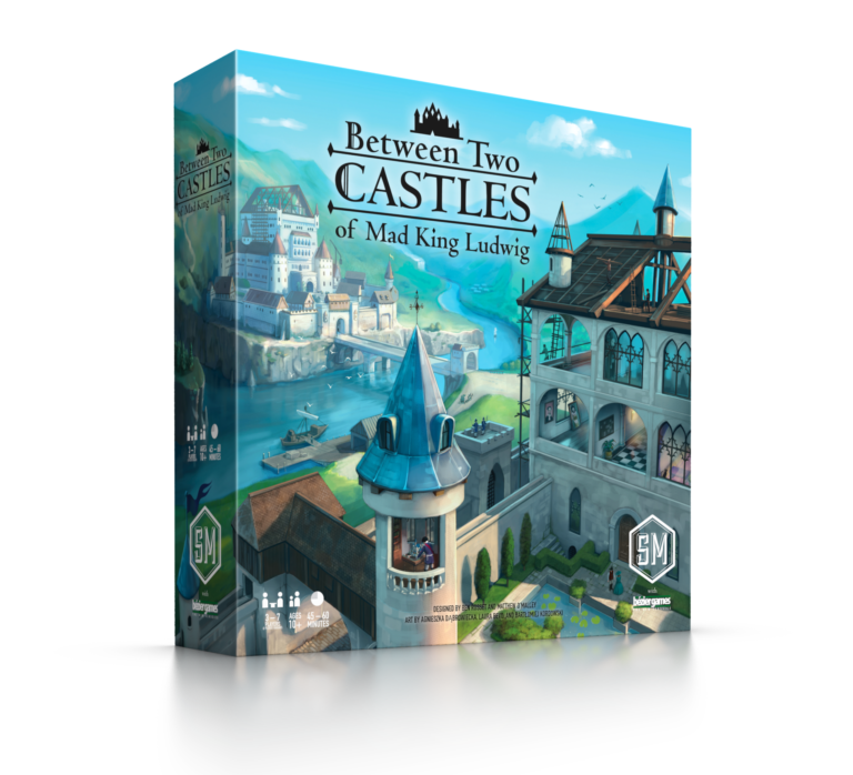 Between Two Castles of Mad King Ludwig Board Game - Macronova Games