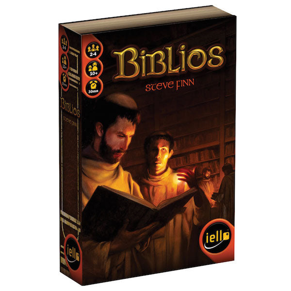 Biblios Board Game - Macronova Games