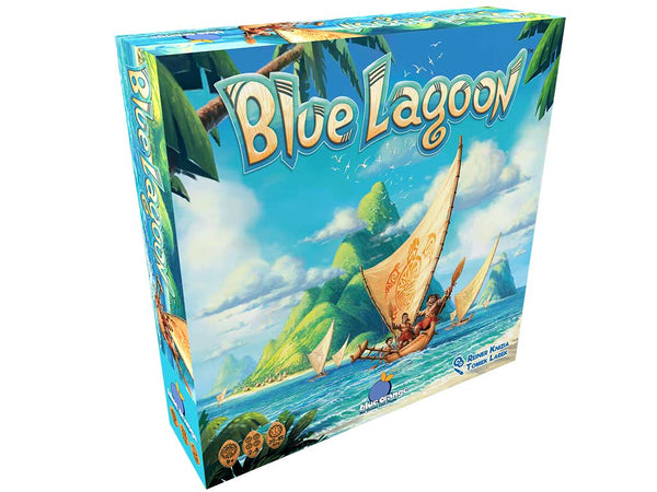 Blue Lagoon Board Game - Macronova Games