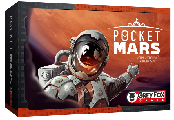 Pocket Mars Board Game - Macronova Games