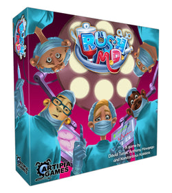 Rush M.D. Board Game - Macronova Games