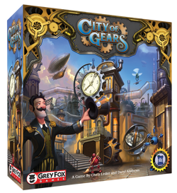 City of Gears Board Game - Macronova Games