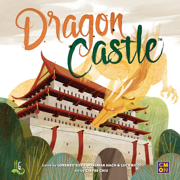 Dragon Castle Board Game - Macronova Games
