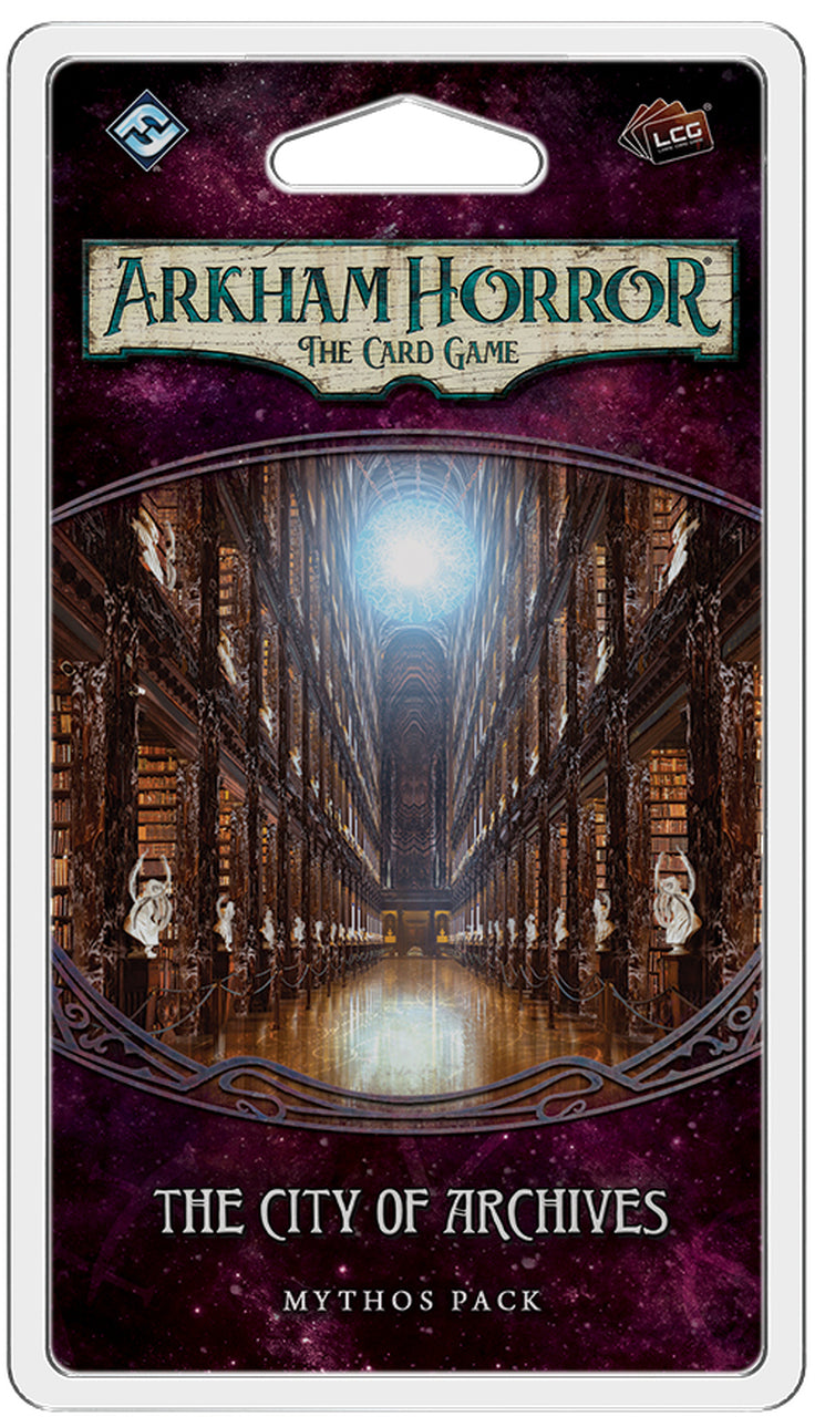 Arkham Horror: The Card Game - The City of Archives Mythos Pack