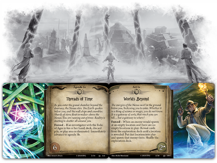 Arkham Horror: The Card Game - Shattered Aeons Mythos Pack