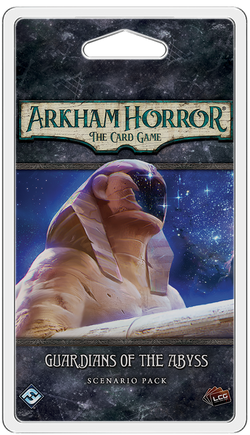 Arkham Horror: The Card Game Guardians of the Abyss Scenario Pack