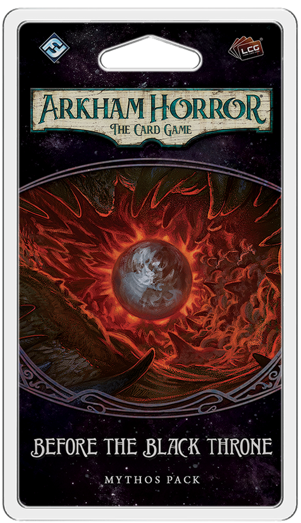 Arkham Horror: The Card Game - Before the Black Throne Mythos Pack