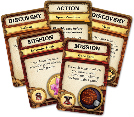 Mission: Red Planet Board Game - Macronova Games