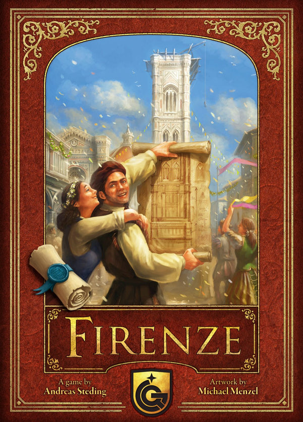 Firenze Board Game - Macronova Games