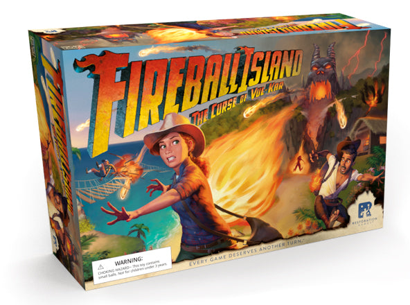 Fireball Island: The Curse of Vul-Kar Board Game - Macronova Games