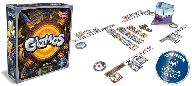 Gizmos 2nd edition Board Game - Macronova Games