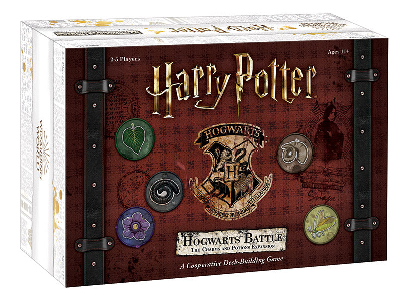 Harry Potter: Hogwarts Battle – The Charms and Potions Expansion Board Game - Macronova Games