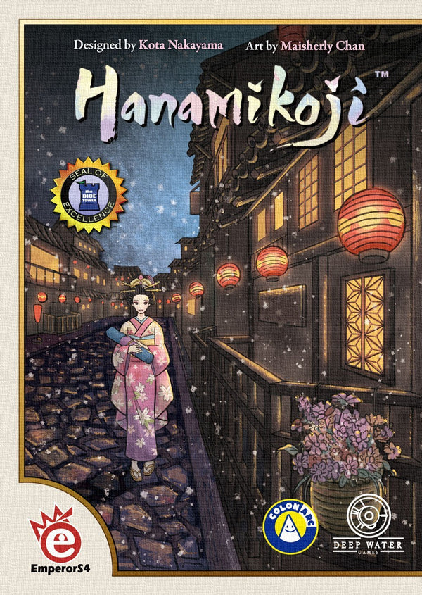 Hanamikoji Board Game - Macronova Games