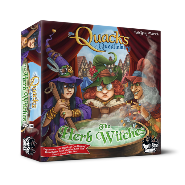 The Quacks of Quedlinburg: The Herb Witches Expansion Board Game - Macronova Games