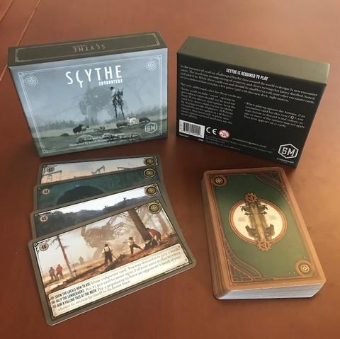 Scythe Encounters Board Game - Macronova Games
