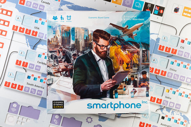 Smartphone Inc. Board Game - Macronova Games